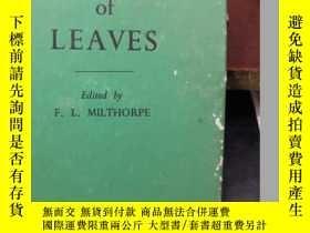 二手書博民逛書店the罕見growth of leaves(H5537)Y173