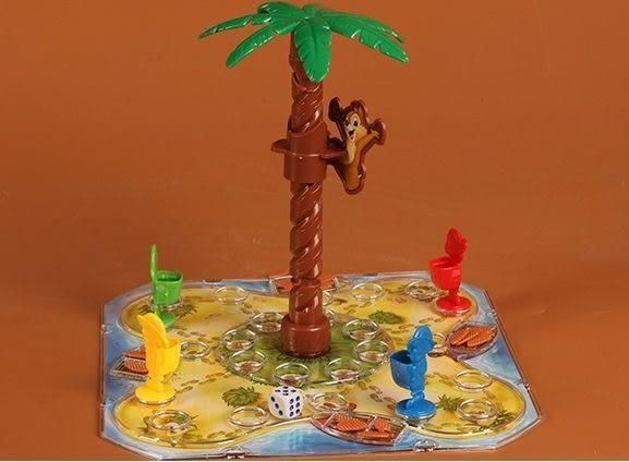 *粉粉寶貝玩具*搶松果互動桌遊~松鼠摘松果遊戲~親子互動玩具