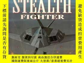 二手書博民逛書店Janes罕見F-117 Stealth Fighter: At The Controls-珍妮斯F-117隱形戰