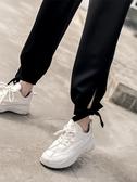 運動褲女寬鬆防蚊大人女夏季薄款高腰垂感休閒褲子 【ifashion·全店免運】