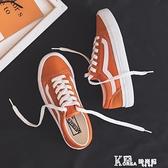 帆布鞋 帆布鞋女2021夏季新款潮鞋百搭小白鞋學生鞋子韓版ulzzang板鞋