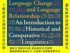 二手書博民逛書店Language罕見History, Language Change, And Language Relation