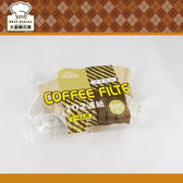 KALITA 無漂白扇形咖啡濾紙2 4 人份100 枚可 扇形濾杯大廚師