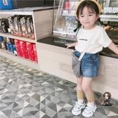 兒童短袖 小女童短袖T恤夏裝2020新款兒童棉半袖男寶寶洋氣韓版上衣潮 3色