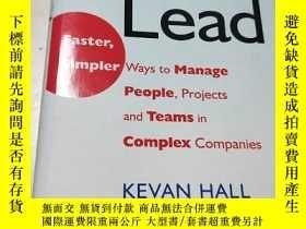 二手書博民逛書店Speed罕見Lead: Faster, Simpler Way
