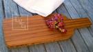 【花瓣形狀】楠竹 砧板