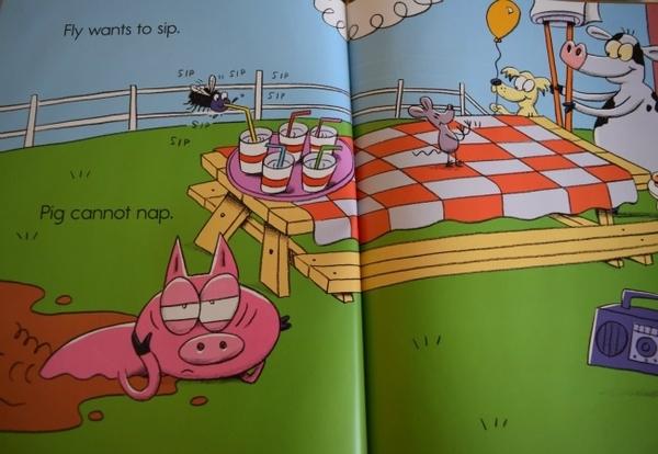 PIG HAS A PLAN / 平裝繪本《主題 幽默》