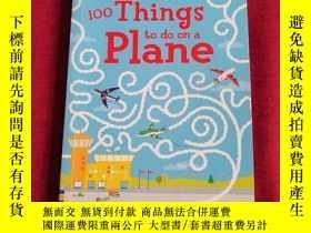 二手書博民逛書店100罕見Things to Do on a PlaneY335486 Emily Bone Usborne