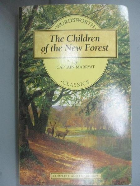 【書寶二手書T6/原文小說_ICC】The Children of the New Forest_Captain Fre