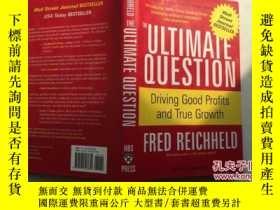 二手書博民逛書店The罕見Ultimate Question: Driving