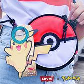 Levis X Pokemon 寶可夢限量聯名 男女同款 精靈球隨身小包 / 精靈球旗標