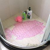 防滑墊子淋浴洗澡按摩墊門墊地墊防水墊腳墊大號吸盤浴缸【米蘭街頭】igo