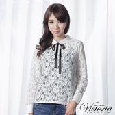 Victoria 全蕾絲長袖襯衫-女