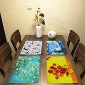 餐墊防水隔熱墊宜家歐式西餐墊北歐日式兒童杯墊創意桌墊pvc禮物限時八九折