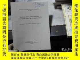 二手書博民逛書店Revision罕見of the Alatoconchidae