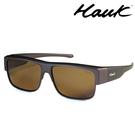 HAWK 新型薄框偏光太陽眼鏡套鏡(2用)HK1022-47