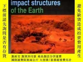 二手書博民逛書店Meteorite罕見Craters And Impact St
