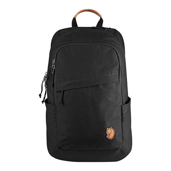 【Fjällräven 瑞典小狐貍包 FR26051】Räven 20L 15吋筆電背包 550 (黑色)
