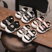 寶寶涼鞋男0-1歲兒童女童小童包頭鞋子嬰兒軟底學步鞋2   沸點奇跡