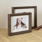 相框組合擺臺照片實木畫框8寸婚紗照掛墻【聚寶屋】