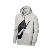 Nike 長袖T恤 NSW Pullover Hoodie 黑 白 男款 帽T 運動休閒 【PUMP306】 CJ5049-050