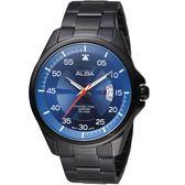 ALBA雅柏活力街頭時尚腕錶 VJ42-X268B AS9H39X1 藍面