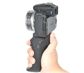 又敗家@JJC索尼Sony相機手把手柄HR適a99 a77 II a68 a6600 a6500相容RM-S1AM快門線