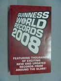 【書寶二手書T6/原文書_ILN】Guinness World Records 2008