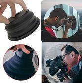 現貨 遮光鏡頭罩防玻璃反光硅膠鏡頭罩