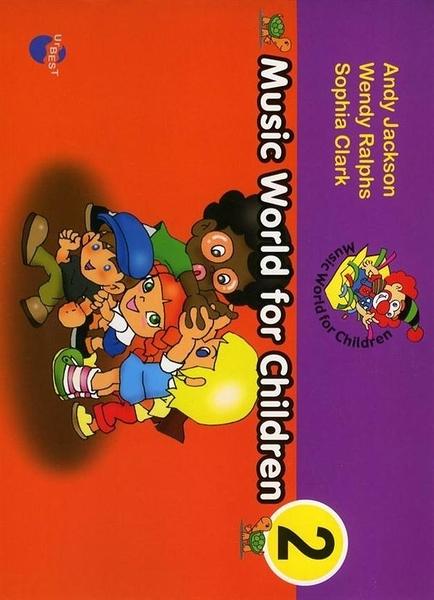 (二手書)兒童歌唱學英語(2):Music Word for Children 2