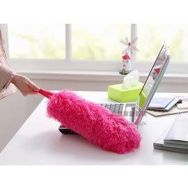 超細纖維可彎曲除塵撣子 雞毛撢子 汽車撣 櫥櫃清潔 顏色隨機出貨【CA190】《約翰家庭百貨