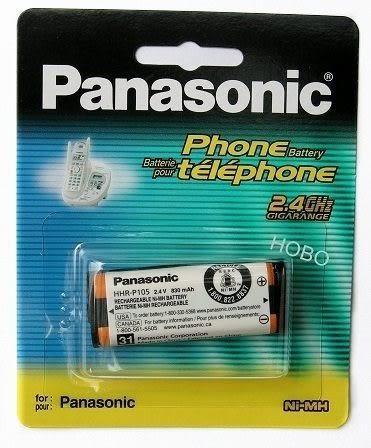 原廠 國際牌 Panasonic HHR-P105 無線電話系列電池 2.4V 830mA