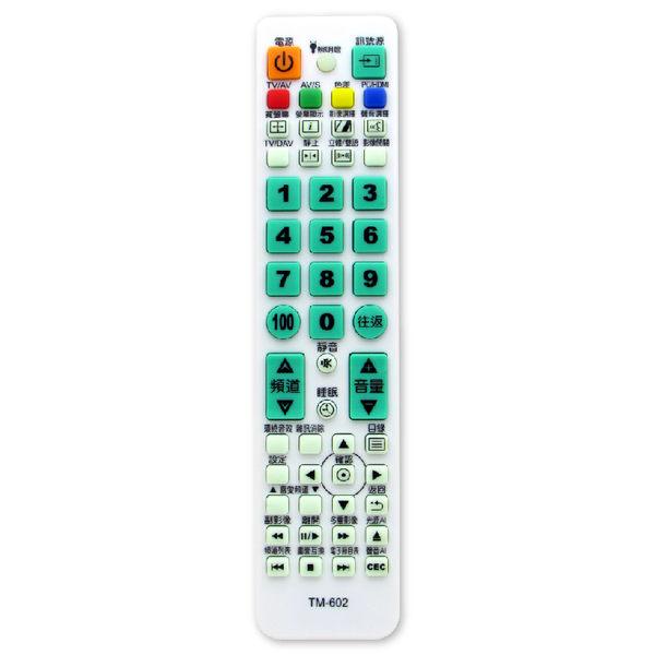 【東元 TECO】TM-602 液晶電視專用遙控器
