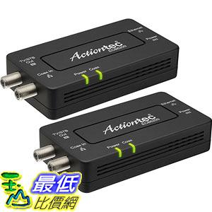 [美國直購] Actiontec Bonded MoCA 2.0 Ethernet to Coax Adapter, 2 Pack (ECB6200K02) 适配器