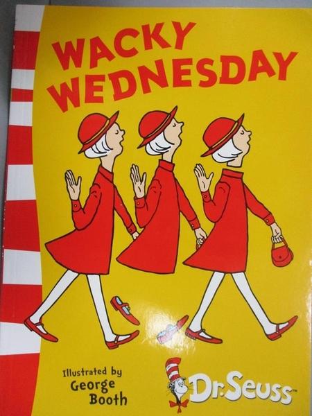 【書寶二手書T1/電玩攻略_KHY】Dr. Seuss Green Back Book: Wacky Wednesday_Dr. Seuss,George Booth