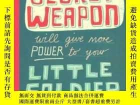 二手書博民逛書店Secret罕見Weapon Postcard BookY256260 Linzie Hunter Chron