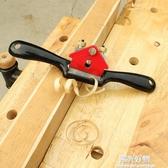美科木工鳥刨一字修邊可調節手推刨子家用木匠 工具diy 木工刨NMS 陽光好物