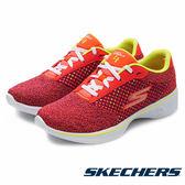 【Skechers 促銷6折】SKECHERS (女)  GO Walk 4 火紅   健走鞋 14146PKLM