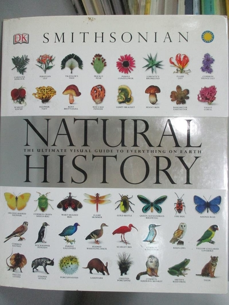 【書寶二手書T8/動植物_ZCG】Smithsonian Natural History: The Ultimate V