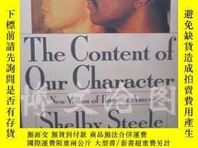 二手書博民逛書店The罕見Content Of Our Character: A