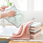 強力吸水不沾油抹布 珊瑚絨抹布 洗碗布 擦手巾 抹布 洗車 廚房用品 不掉毛吸水抹布【RS1062】