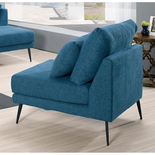【森可家居】列克斯單人椅 8CM698-6 布沙發 一人座
