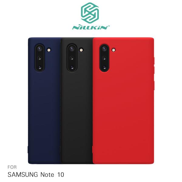 NILLKIN SAMSUNG Galaxy Note 10 柔雅保護套 四角包邊 軟殼 保護套 手機套
