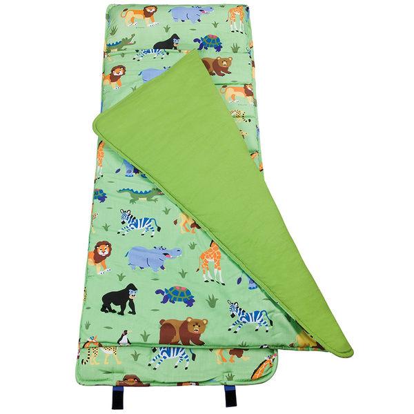 【LoveBBB】無毒幼教睡袋 符合美國標準 Wildkin 28080 野生動物園 午睡墊(3-7) 安親班/兒童睡袋