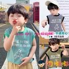 男童無袖背心夏季韓版休閒細條紋兒童寶寶小背心【淘嘟嘟】