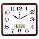 星方形電子掛鐘客廳靜音鐘錶家庭創意時尚藝...