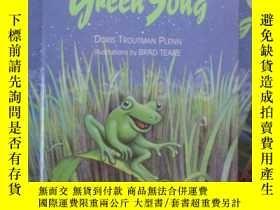 二手書博民逛書店The罕見Green Song 【16開精裝 英文原版】Y16472 Doris Troutman Plenn