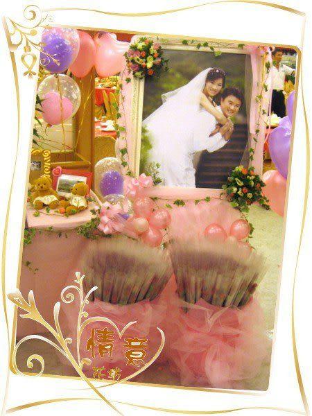 婚禮會場佈置必備婚禮小物謝客.進場用單枝玫瑰花~100朵只要2000元
