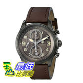 [103 美國直購] 男士手錶 Victorinox Men s 241520 Infantry Stainless Steel Automatic Watch with Brown Leather Band  $43824