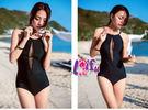 泳衣來福,C828泳衣中性感連身泳衣一件式泳衣游泳衣泳裝正品,售價880元